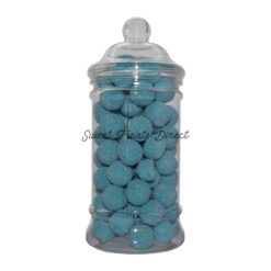 Blue Raspberry Bonbons Victorian Sweet Jar