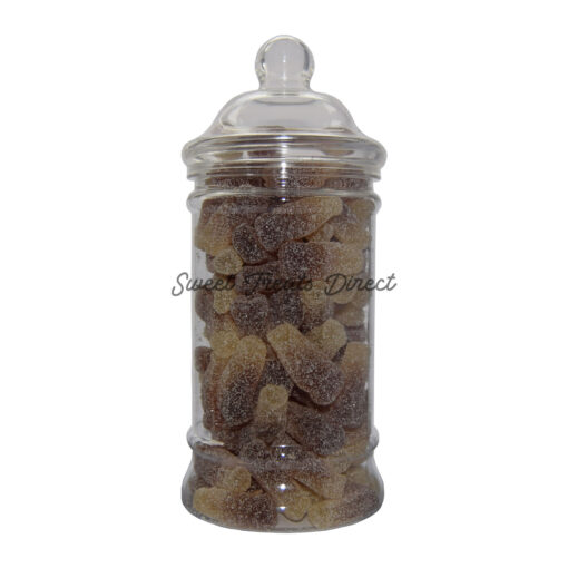 Sour Fizzy Cola Bottles Victorian Sweet Jar