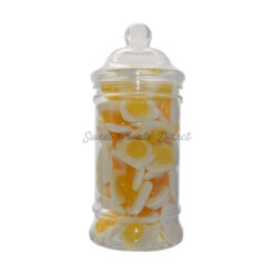 Haribo Fried Eggs Victorian Sweet Jar