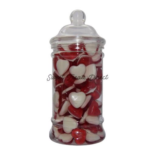 Haribo Heart Throbs Victorian Sweet Jar