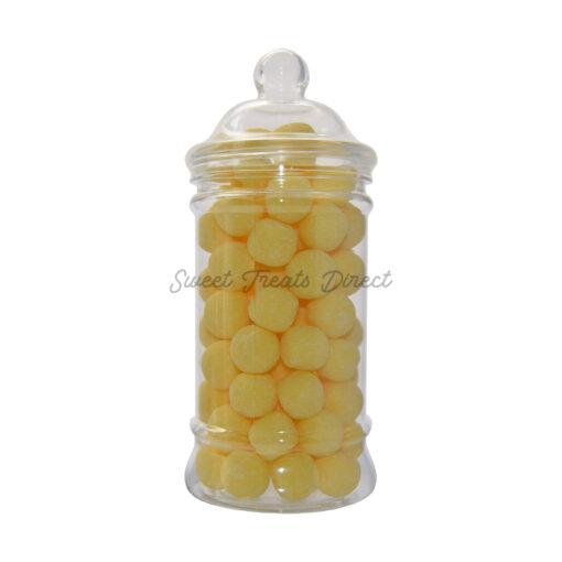 lemon bonbons sweet jar