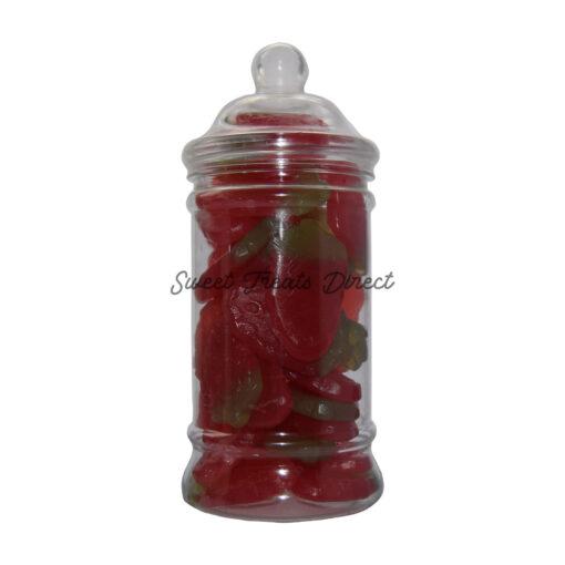 Haribo Giant Strawbs Victorian Sweet Jar