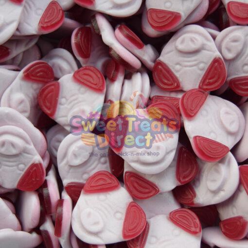 Pig Mugs Face Sweets