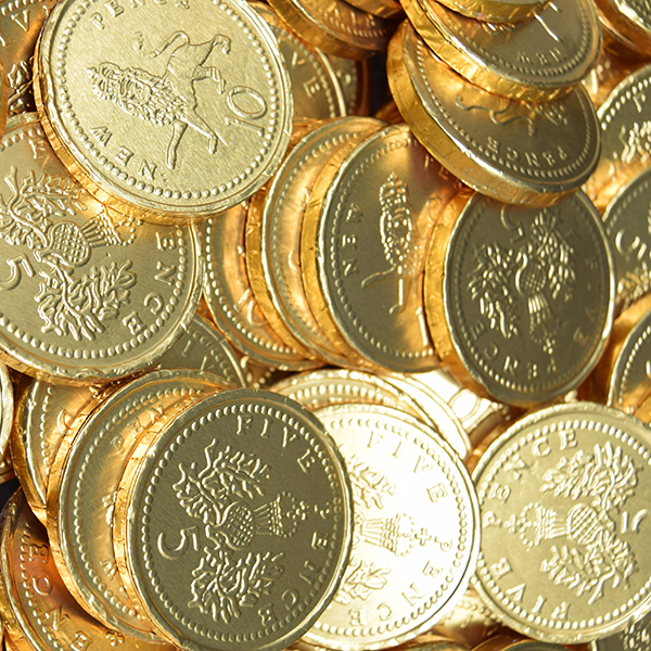 Kingsway Chocolate Coins