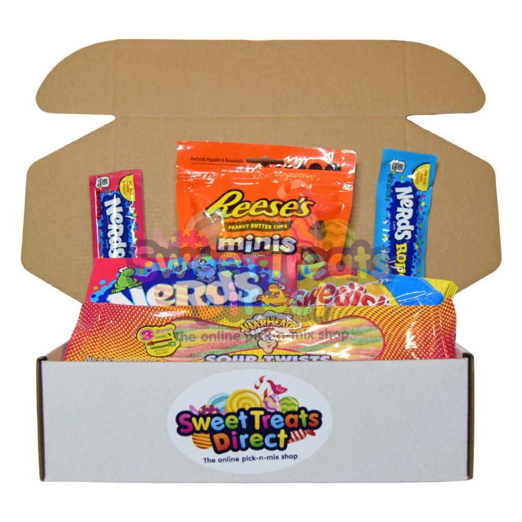 American Sweets Pick n Mix Hamper Box