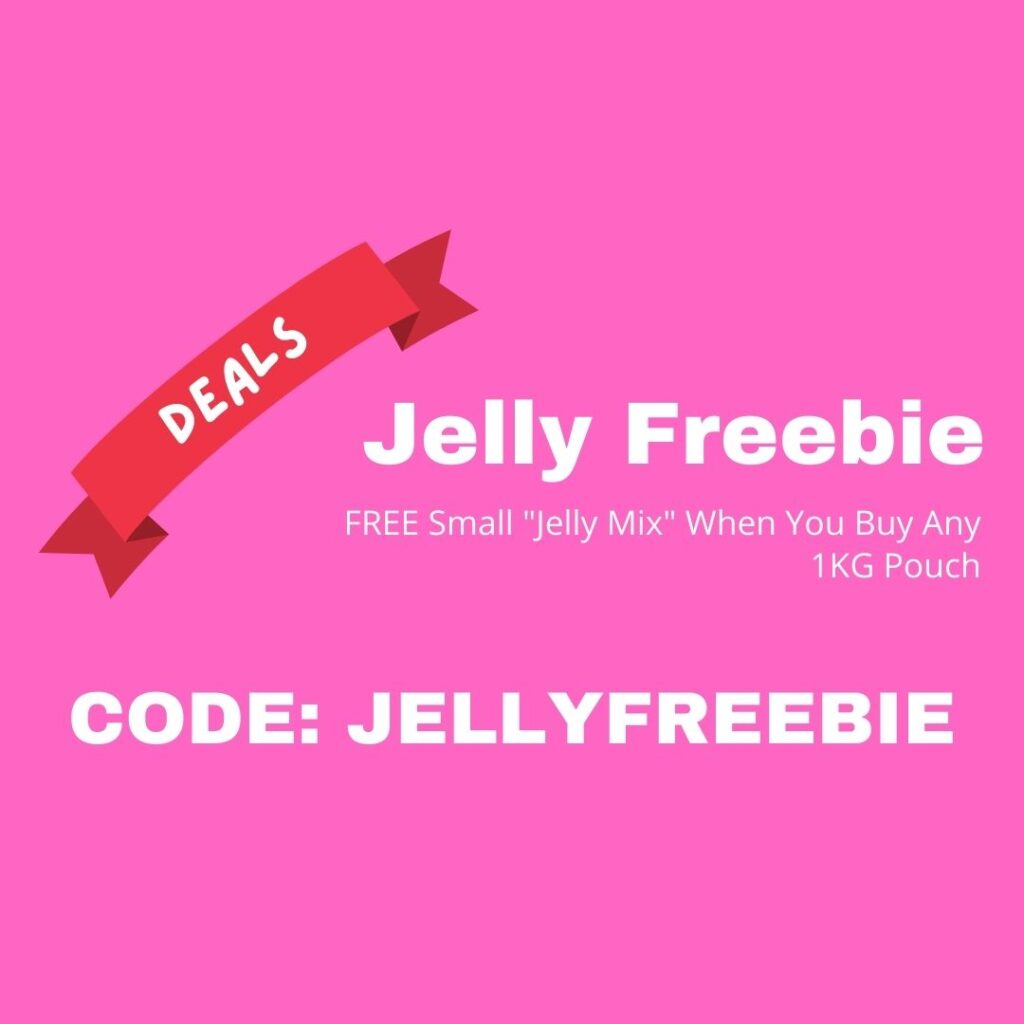 Jelly Freebie Special Offer